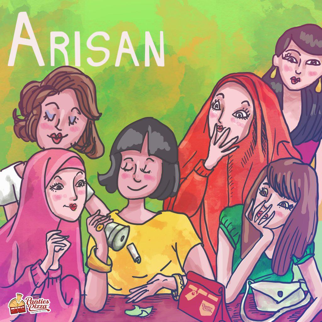 Arisan Pizza Ilustrasi