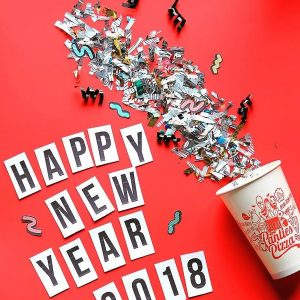 Panties Pizza New Year 2018 Tahun 2018 telah tiba dan Panties Pizza Always Melted
