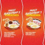PROMO PAKET BUKBARBAR Promo Buka Puasa Makin CETAR dengan Paket BUKBARBAR Menu Baru News Pizza Slide