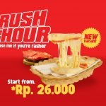 Rush Hour Pizza Panties Pizza Kerja Keras Dengan Waktu Terbatas RUSH HOUR PIZZA Varian Baru Panties Pizza Single Slide