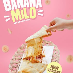 Menu Baru Panties Pizza Banana Milo Not Just Drink Milo Not Just Drink Milo