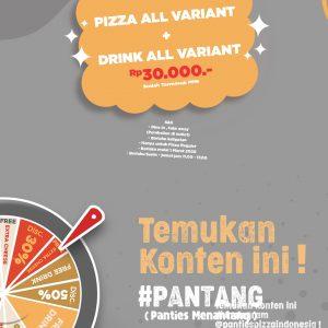 Promo Candu Promo Panties Menantang Pantang Panties Pizza 30k Promo Bulan Maret Pantang Dan Candu