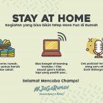 Stay At Home Kegiatan Dirumah Yang Bisa Dilakukan Jaga Rumah Kegiatan yang bisa dilakukan saat stay at home Slide