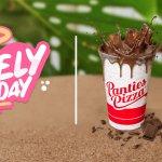 Panties Pizza Promo Bulan Februari 2021 Gratis Minum Chocomate Chocozilla Chocowild Gratis Minum! Setiap Hari Selasa Single Slide